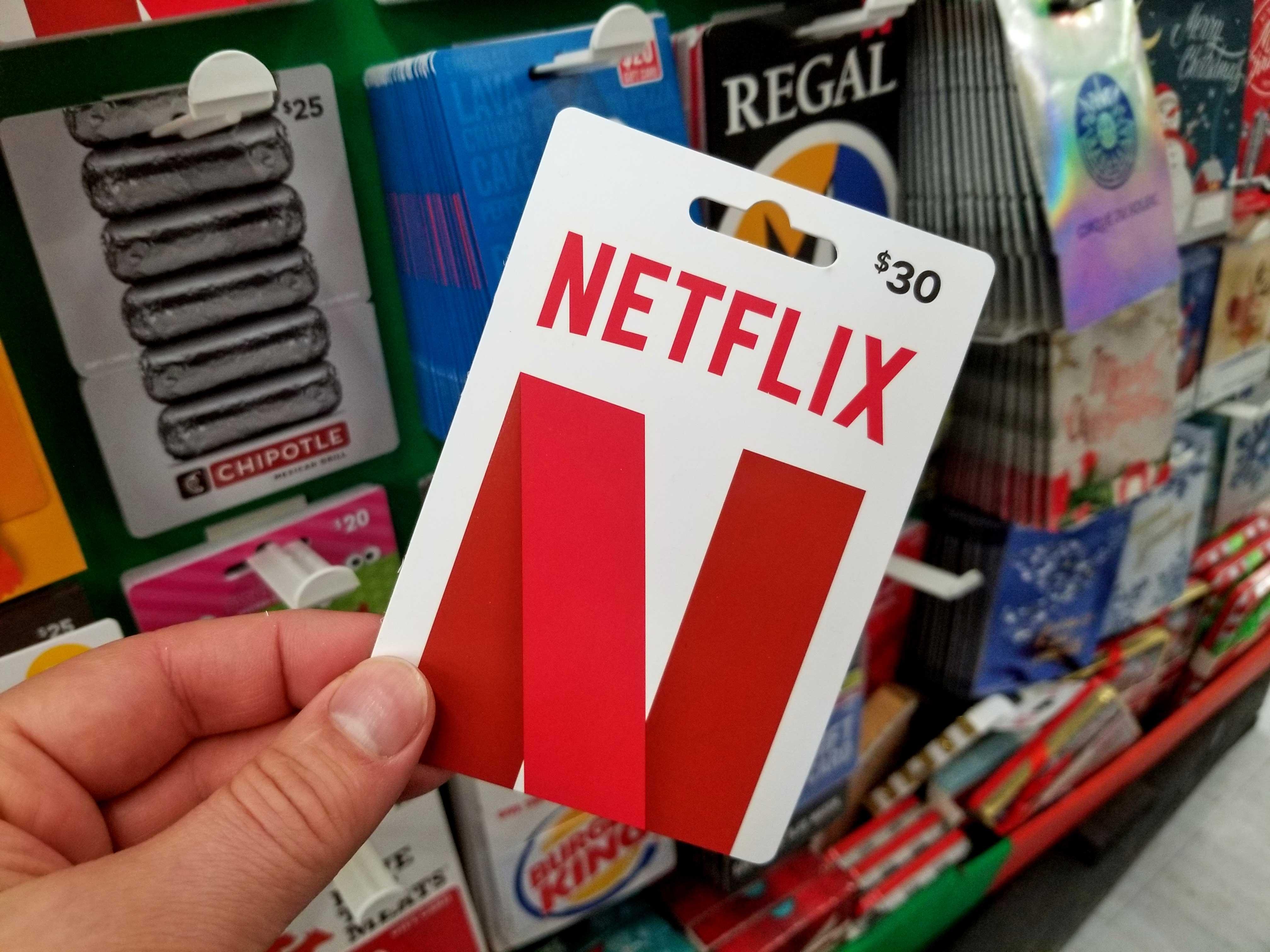 netflix-gift-card, Gamer Zone 1 , gamerzone1.com